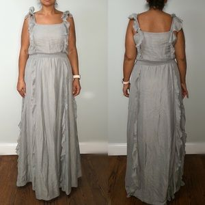 Jessica Simpson Gray Maxi Dress